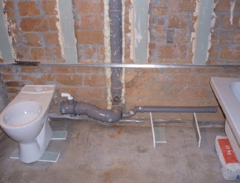 Водопровод своими руками в ванной комнате