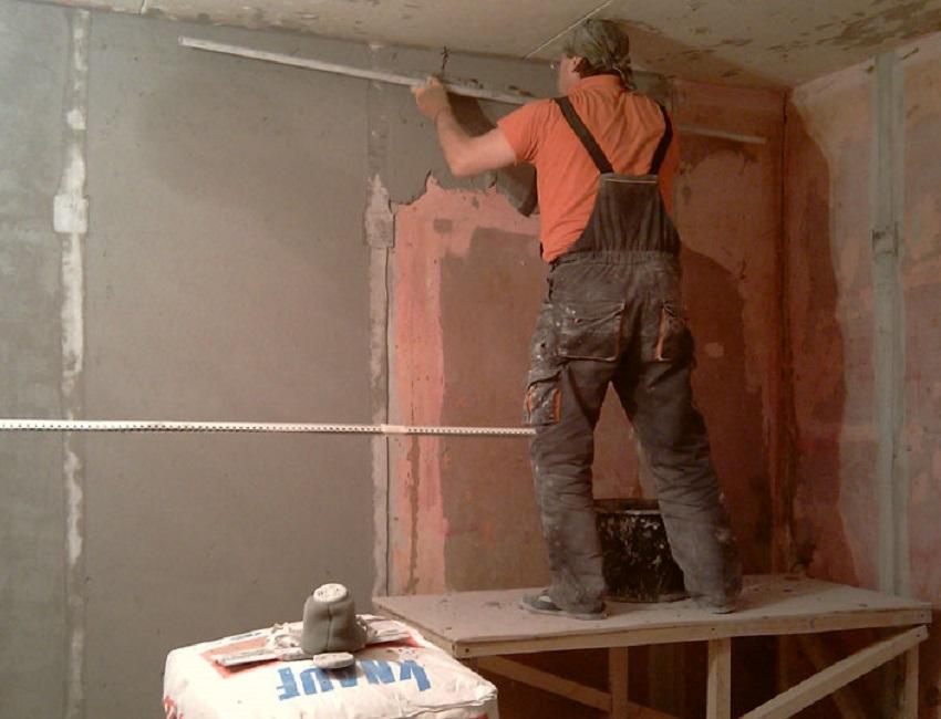 Подготовка стен в новостройке своими руками