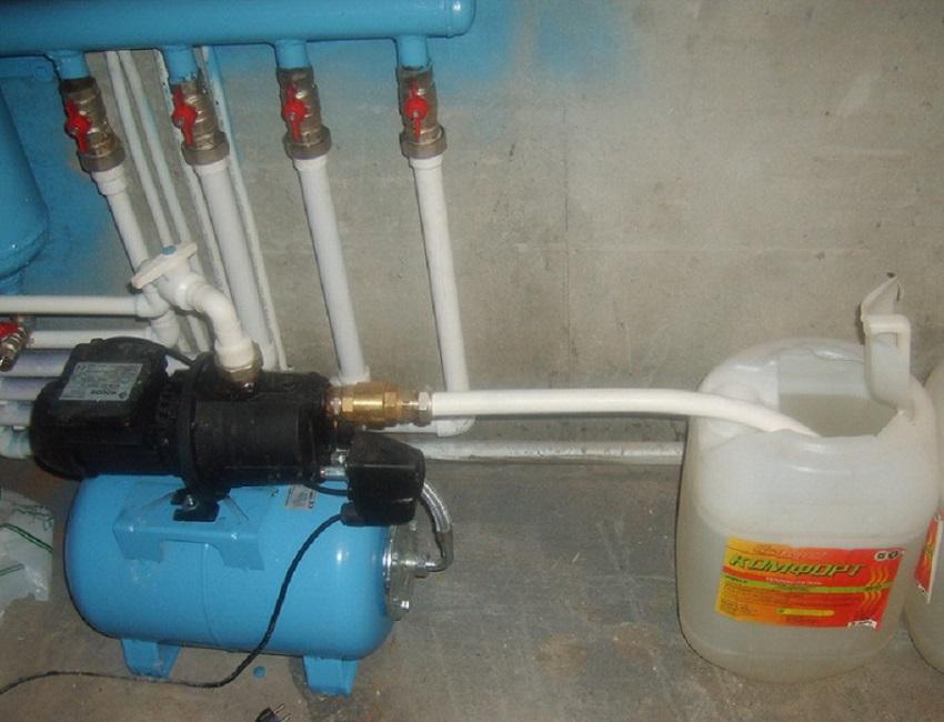 Чем промывать систему отопления в частном доме своими руками 29