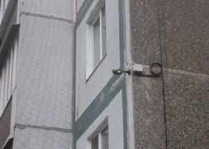 Установка видеокамер и домофонов Казань